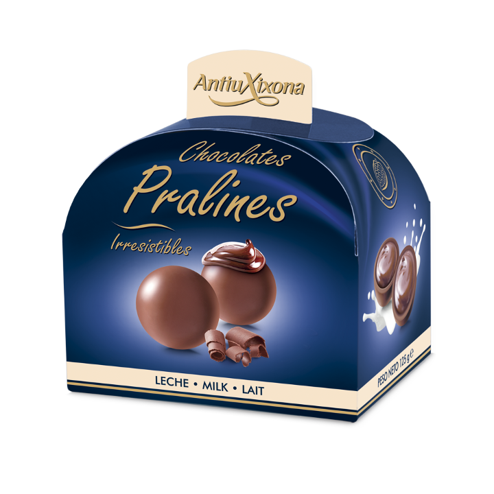 CHOCOLATE pralines leche