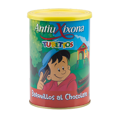 BARQUILLOS AL CHOCOLATE