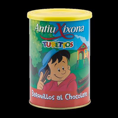 BARQUILLOS AL CHOCOLATE
