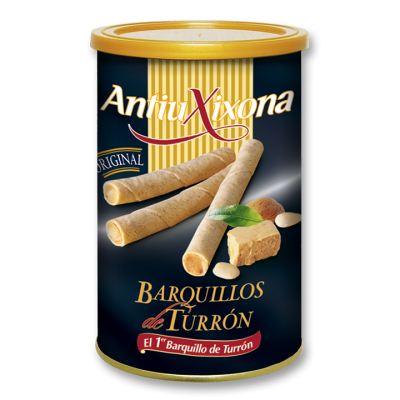Wafer Sticks filled with Turrón