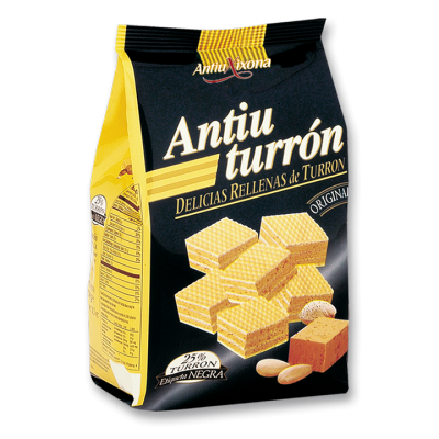 Biscuits fourrées au Turrón