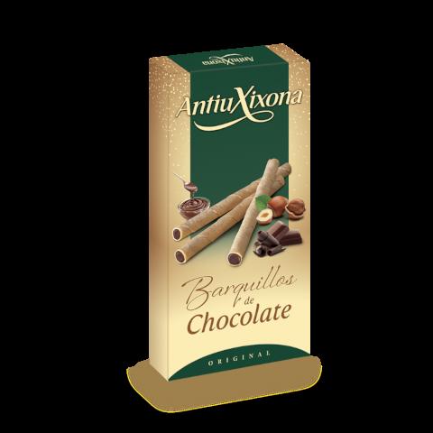 BARQUILLOS RELLENOS DE CHOCOLATE ESTUCHE