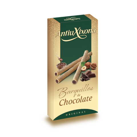 Wafer Sticks filled with Chocolate