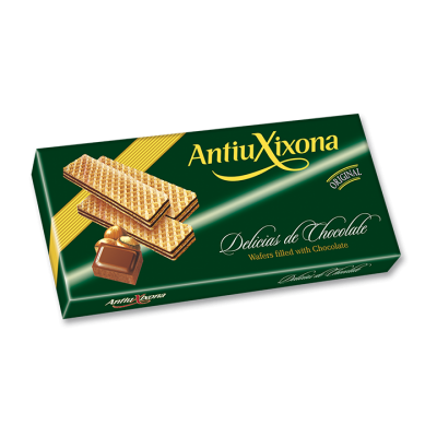 Wafers filled with Chocolate
