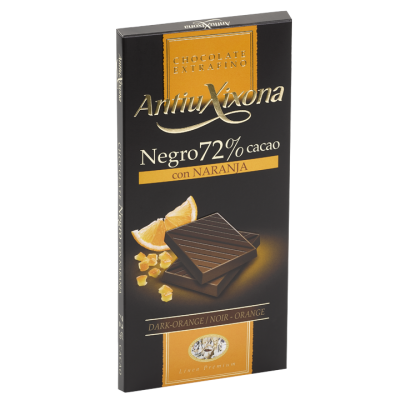 Dark 72% Cocoa Chocolate with Orange