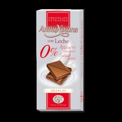 Chocolat au Lait Sans Sucre