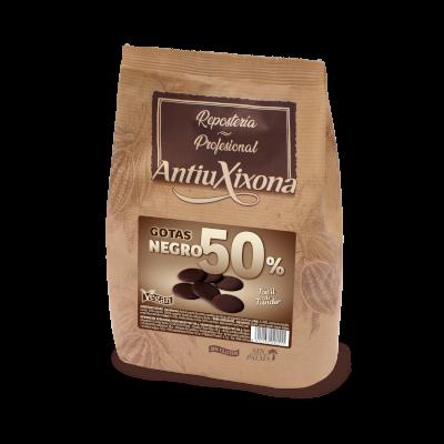 Gotas de Chocolate Negro