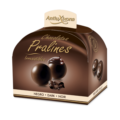 PRALINÉS AU CHOCOLAT NOIR