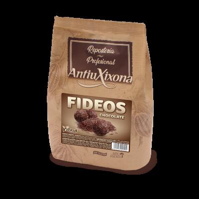 Fideos de Chocolate Negro