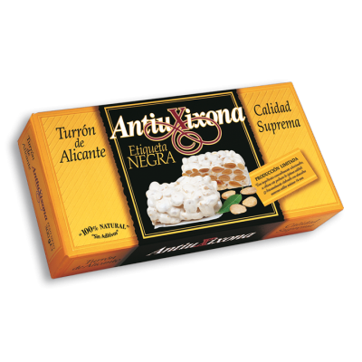 Almond and Honey Brittle Turrón (64% Almond)