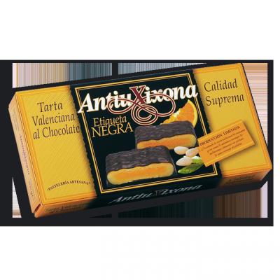 Massepain enrobé au Chocolat fourré à la Crème d'Orange