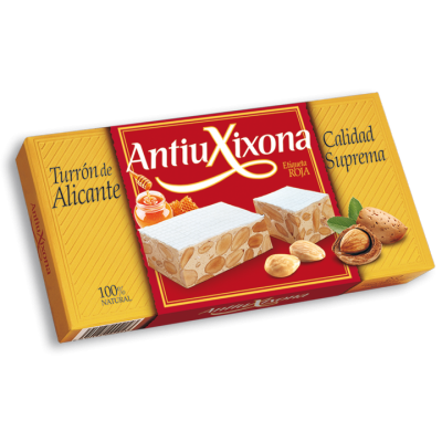 Almond and Honey Brittle Turrón