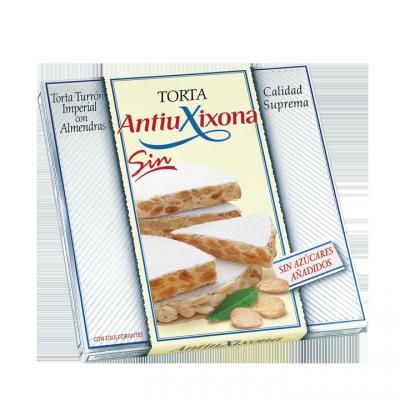 TORTA TURRÓN IMPERIAL CON ALMENDRAS