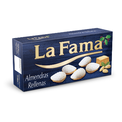 Wafer with Almond Paste