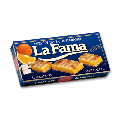 Tarte fourré à la Crème d'Orange