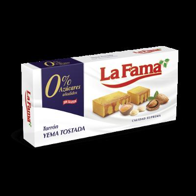 Caramel Egg Yolk Marzipan